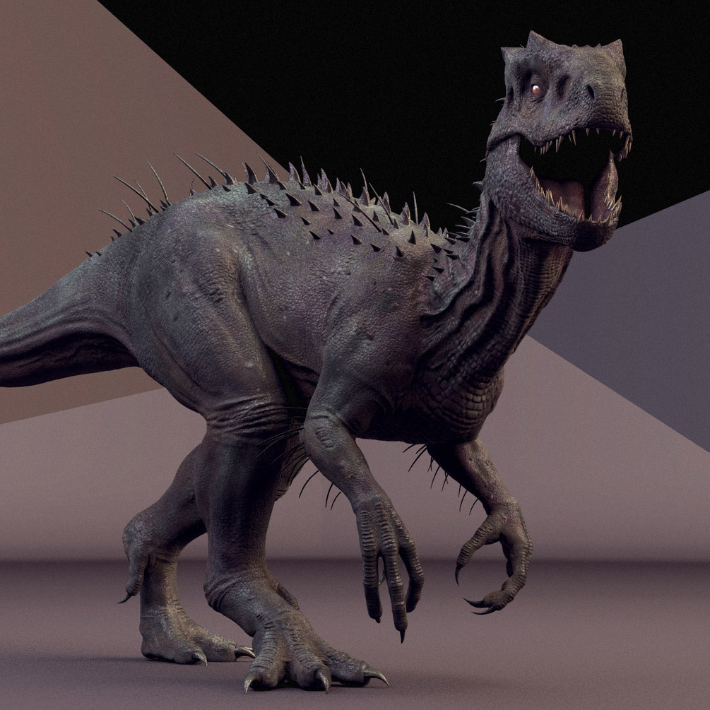 Dinosaur 3D Model & Animation Free Rig to download | 3DArt