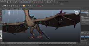 Creature Animation Free Rig to download   3DArt