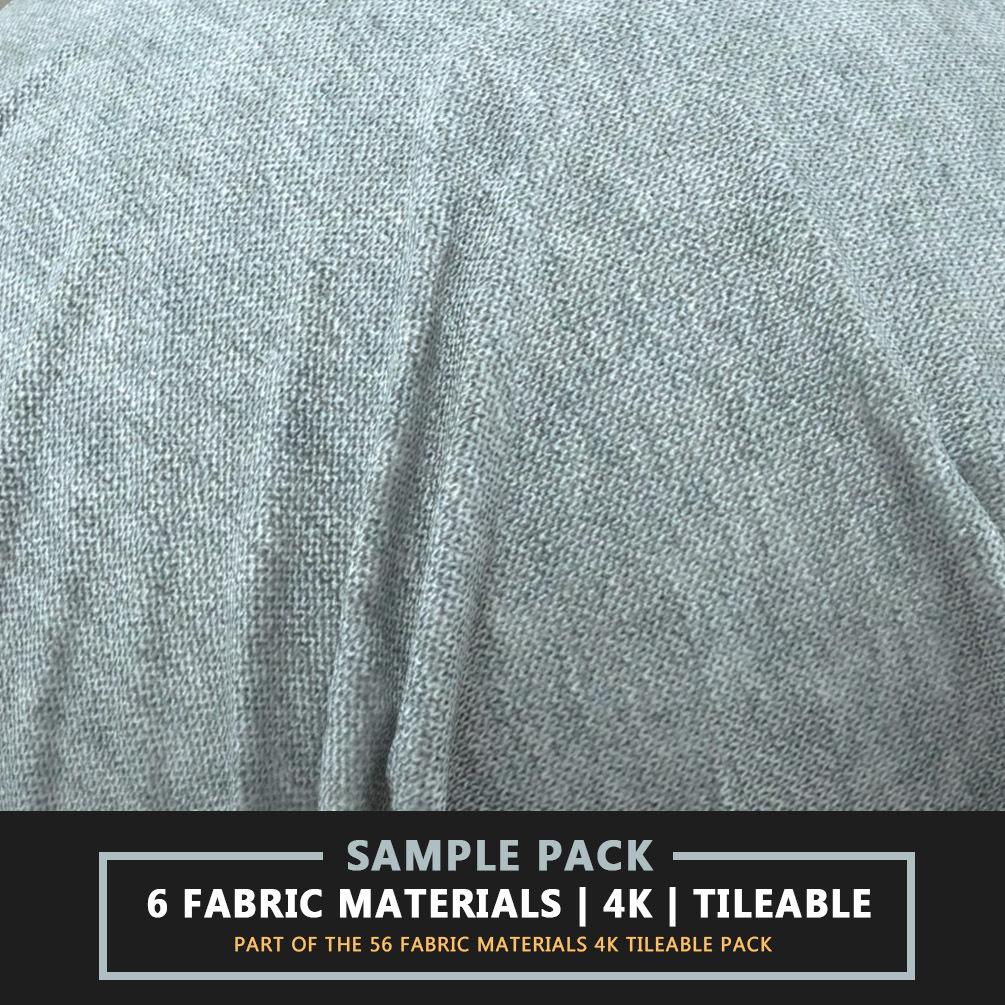 Download Fabric Materials - 6 Sample in 4K | 3DArt