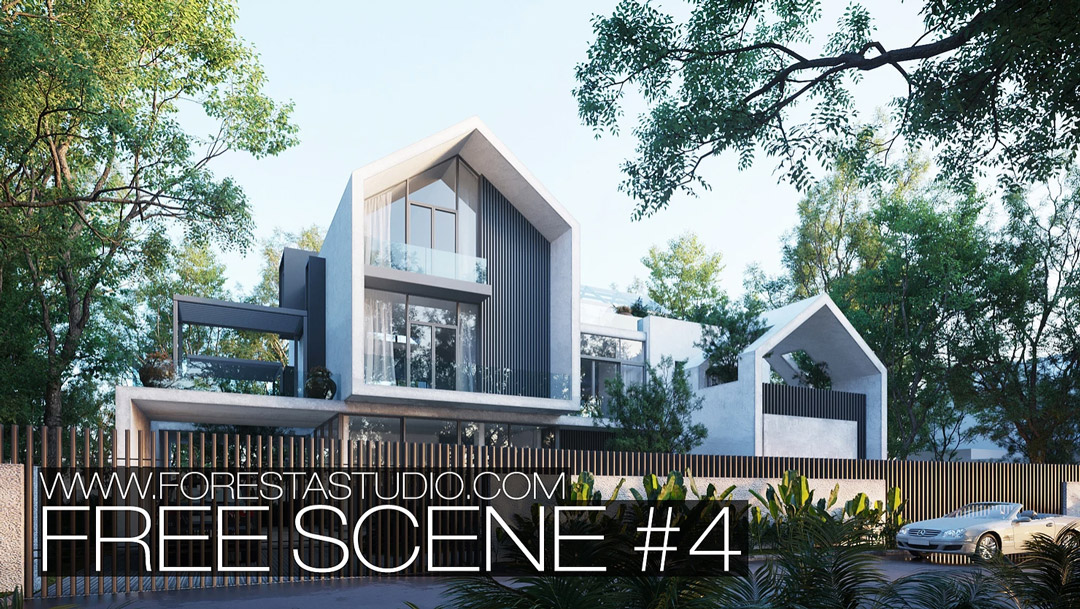 Download 3ds Max Free Scene | 3DArt