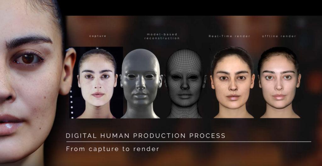 3D Scan Head Model Download | 3DArt