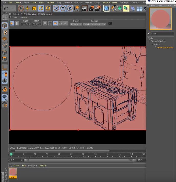 toon-shader-cinema-4d-tutorial | 3DArt