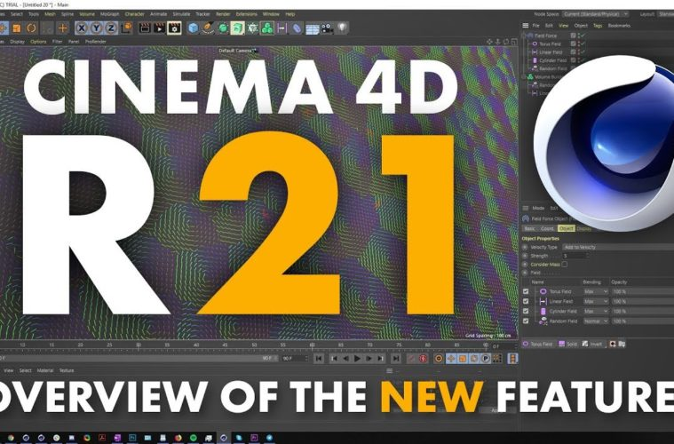 Cinema 4D R21 - New Features | 3DArt