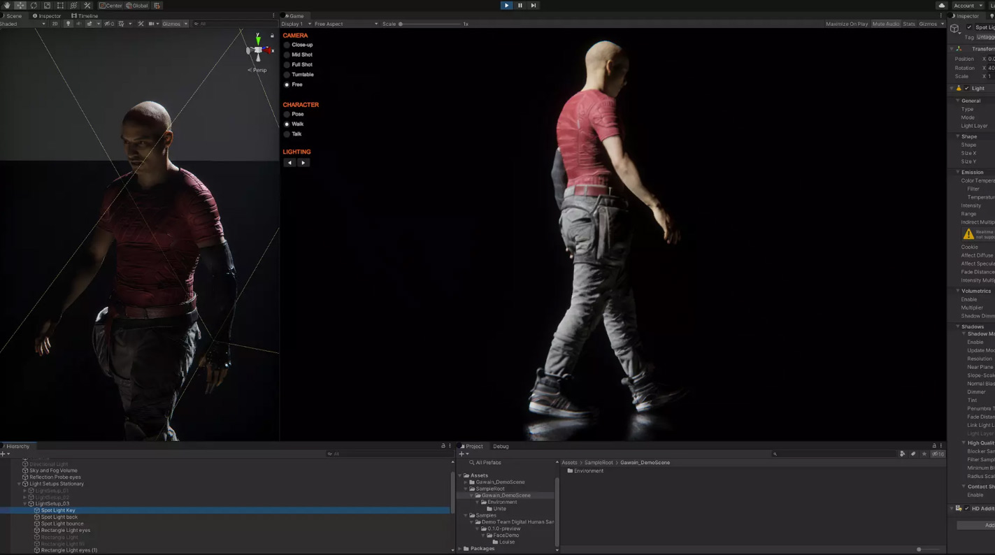 Free 3d Character And Facial Animation From Unity 3dart